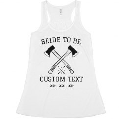 Axe Throwing Bride to Be Bachelorette