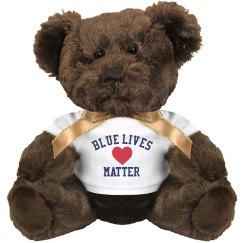 GSC Blue Lives Matter Teddy Bear