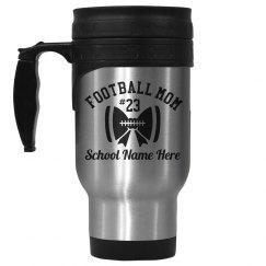 Football Mom Custom Mug