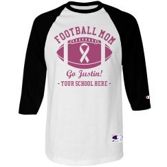 Pink Mom For Football