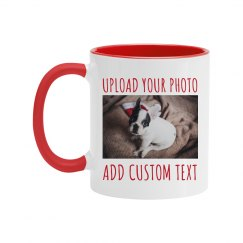 Custom Photo Upload Coffee Gift