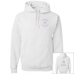 JJ's Hello Foundation - Unisex Hoodie Large Logo