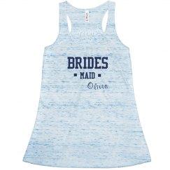 Custom brides maid top