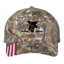 His Doe Custom Matching Camo Hat