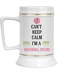 Baseball Mom Can't Keep Calm