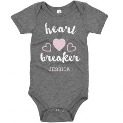 Heartbreaker Cute Custom Bodysuit
