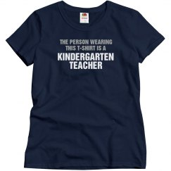The person wearing this