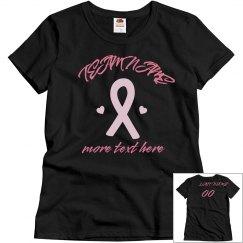 77ce6fd0 Custom Breast Cancer Shirts, Tank Tops, Hoodies, & More