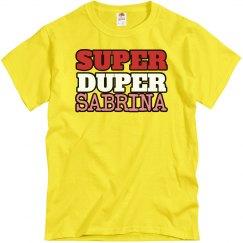 Super Duper Sabrina