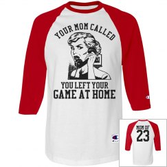Funny Baseball Mom or Softball Mom Jersey
