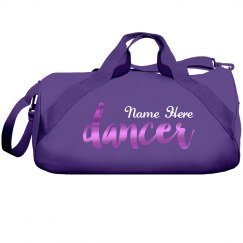 Custom Metallic Dancer Bag