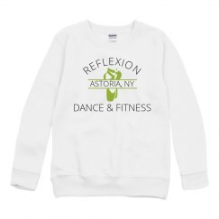 NEW! PERFORMANCE CREWNECK YOUTH (WHITE)