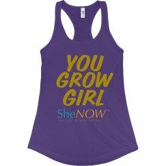 SheNOW YOU GROW GIRL Tank