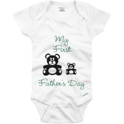 My First Father's Day Onesie