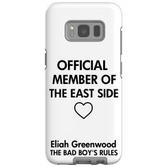 MEMBER OF THE EAST SIDE Galaxy S8 Tough Case