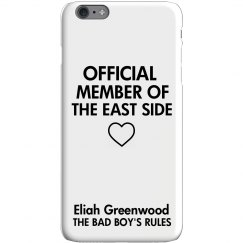 MEMBER OF THE EAST SIDE iPhone 6 Plus Slim Fit Case