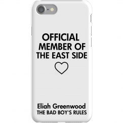 MEMBER OF THE EAST SIDE iPhone 7 Slim fit Case