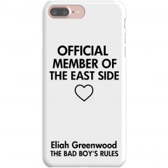 MEMBER OF THE EAST SIDE iPhone 7 Plus Slim fit case