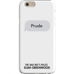 PRUDE matching iPhone 6 Slim Fit Snap Case