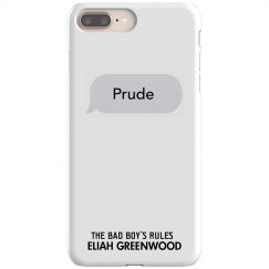 PRUDE matching iPhone 8 Plus Slim Fit Snap Case