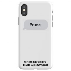 PRUDE matching iPhone X Slim Fit Snap Case