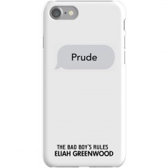 PRUDE matching iPhone 7 Slim Fit Snap Case