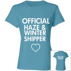 HAZE AND WINTER SHIPPER blue T-shirt