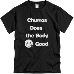 Churros Does The Body Good - BLACK