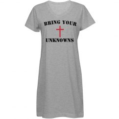 Bring your unknowns