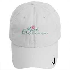 60ish Golf Cap White