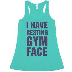 Resting Gym Face Crop