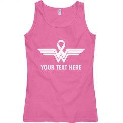Breast Cancer Wonder Woman Fighter