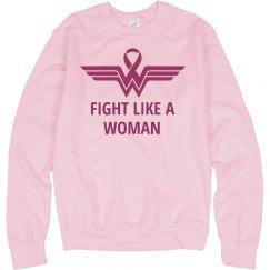Fight Like A Wonder Woman Pink