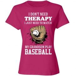 Baseball Grandson shirt