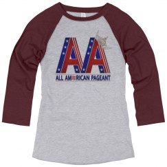 All American Baseball T-shirt