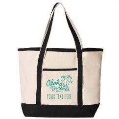 Custom Destination Beach Tote