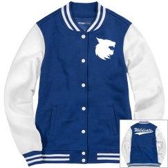 Wildcats women's jacket.