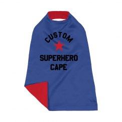 Custom Superhero Costume Cape