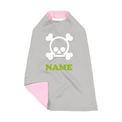 Custom Name Skull Halloween Costume