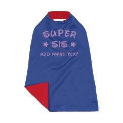 Custsom Name Super Sister Stars