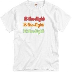 B the Light Retro Unisex Tee