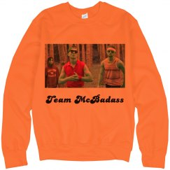 Team McBadass Neon Crewneck