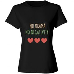 No Dram No Negativity