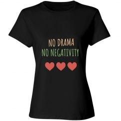 No Dram No Negativity