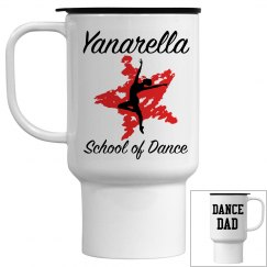 Yanarella Dance Dad Travel Mug