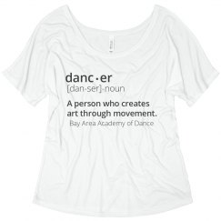 Definition of Dance