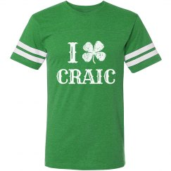 I Heart Craic St. Patricks Shirt