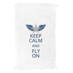 Keep Calm Towel