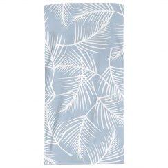 Boho Plant Print Beach Towel