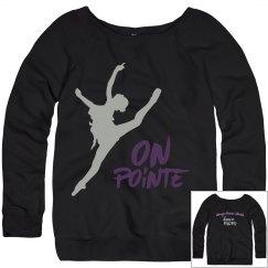 On Pointe Mom Sweatshirt